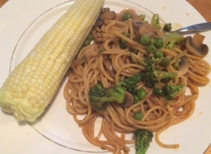 Chinese takeout chow mein